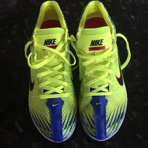 Nike track and field spike running shoes waffle XC
